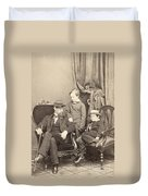 Willie & Tad Lincoln, 1862 Duvet Cover