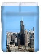 Willis Sears Tower 01 Chicago Duvet Cover