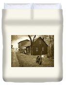 Williston Mill - Sepia Duvet Cover
