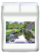 Williston Mill Stream Duvet Cover