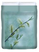 Willow Catkins Duvet Cover