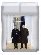 Wilson & Taft: White House Duvet Cover
