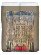 Winchester Cathedral High Altar Duvet Cover