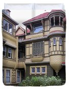 Winchester House - Door To Nowhere Duvet Cover by Daniel Hagerman