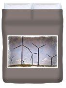 Wind Farm IIi - Impressions Duvet Cover