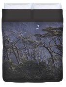Wind-sculpted Southern Beech Forest Duvet Cover