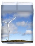 Wind Turbine  Duvet Cover