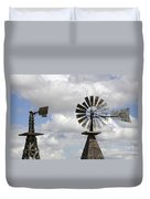 Windmills 5 Duvet Cover