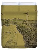 Windmills Of My Mind Duvet Cover