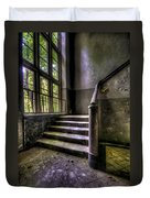 Window And Stairs Duvet Cover