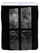 Window At Castle Frankenstein Duvet Cover