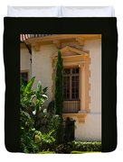 Window At The Biltmore Duvet Cover