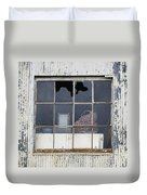 Window In Time Duvet Cover