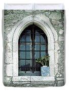 Window Of A Chapel Duvet Cover