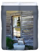 Window On Prairie Life Duvet Cover
