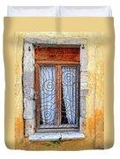 Window Provence France Duvet Cover