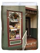 Window Shop Detail Duvet Cover