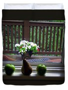 Window Sill 4 Duvet Cover