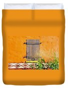 Window To Africa Duvet Cover