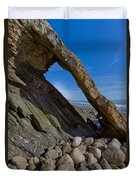 Window To The Beach Duvet Cover
