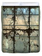 Window Vines Duvet Cover