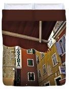 Windows In Venice Duvet Cover