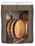 Wine Aging Duvet Cover