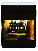 Wine And Song  Duvet Cover