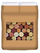 Wine Corks Duvet Cover by Elena Elisseeva