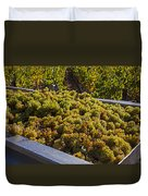 Wine Harvest Duvet Cover by Garry Gay