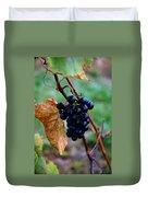 Wine In Time Duvet Cover