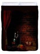 Wine Lifestyle Duvet Cover