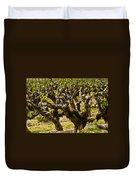 Wine On The Vine Duvet Cover