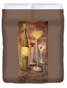 Wine Or Martini? Duvet Cover