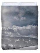 Winter Adventure Duvet Cover