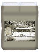 Winter Barn 2 Duvet Cover