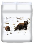 Winter Guide Duvet Cover