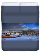 Winter In Inverness Duvet Cover