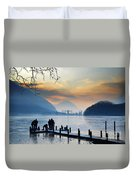 Winter Lake Duvet Cover