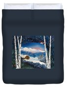 Winter Retreat Duvet Cover