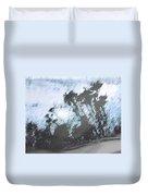 Winter Roadside Duvet Cover