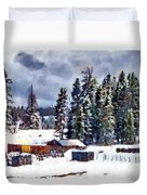 Winter Seclusion Duvet Cover
