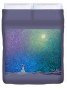 Winter Solitude 1 Duvet Cover