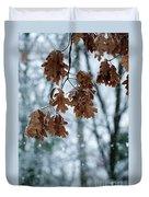 Winter Takes Hold Duvet Cover