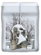 Winter Tombstone Duvet Cover