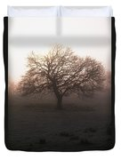 Winter Tree On A Frosty Morning, County Duvet Cover