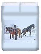 Winter Wonderland Duvet Cover