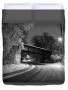Winter's Beauty Duvet Cover