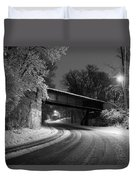 Winter's Beauty Duvet Cover by Joel Witmeyer