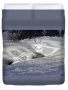 Winter's Satin Blanket Duvet Cover